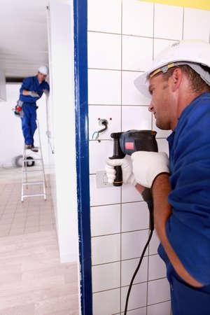tradesman at work photo