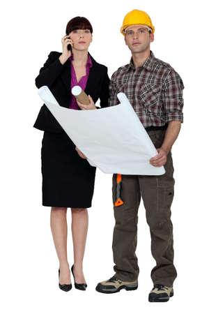 Architect and surveyor photo