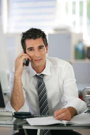 failed: Stressed businessman