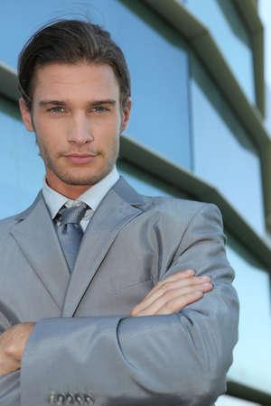 playboy: Slick young executive