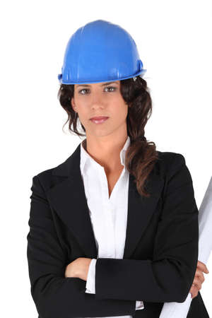Stern female architect photo