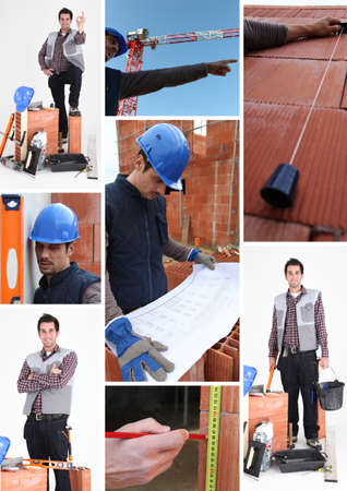 Bricklayer Stock Photo - 12092078