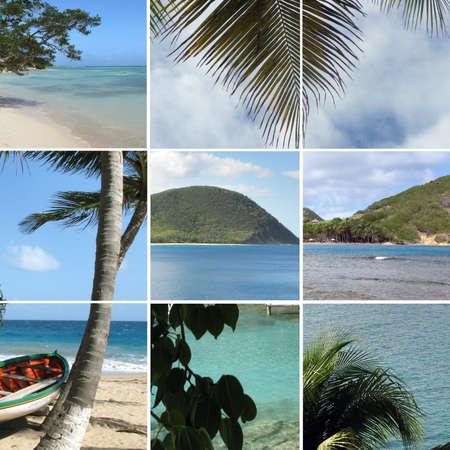 seashores: Images of a tropical paradise Stock Photo
