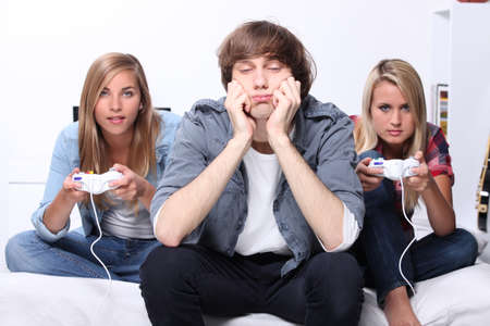 then: Teens and video games