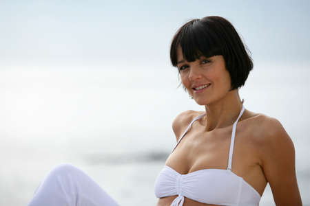 40s adult: Fourty attractive 40 years old woman