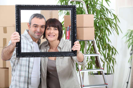 greying: couple moving in new flat