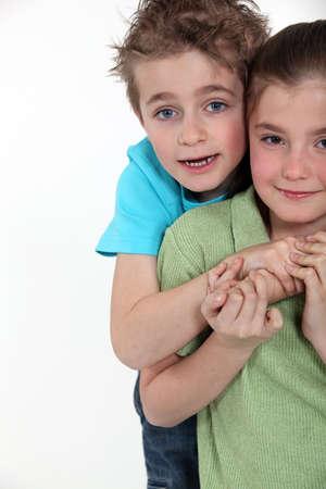 blonde yeux bleus: Enfants