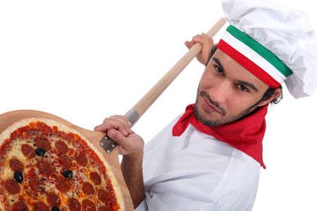 Pizza chef photo