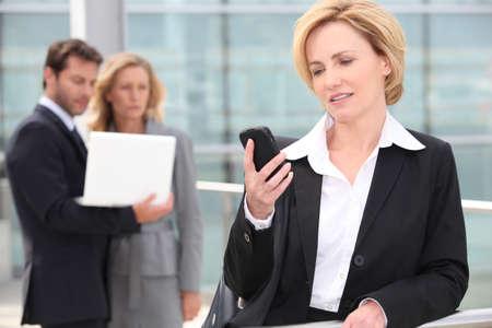 Businesswoman on the phone Stock Photo - 12218102