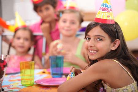 birthday tea: Children