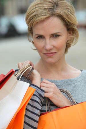 Woman shopping Stock Photo - 12218425