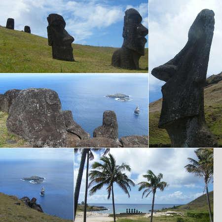 moai: Isla de Pascua