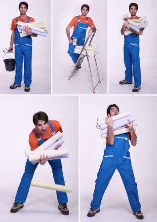 clumsy: un trabajador torpe