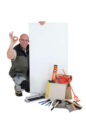 tiler: OK from a tiler with a blank board