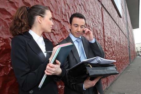 business employees Stock Photo - 12219713