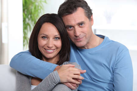 Portrait of a middle-aged couple Stock Photo - 12219770