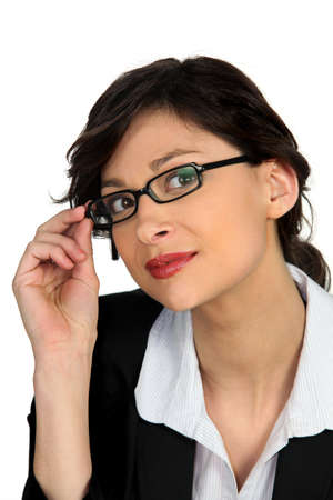 Portrait of a young skillful woman Stock Photo - 12219358