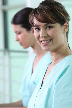 enfermeria: Enfermeras en matorrales
