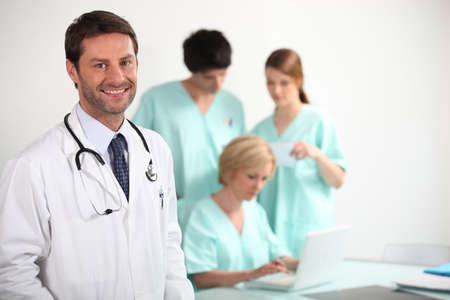 Doctor and nurses Stock Photo - 12219165