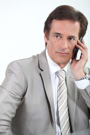 45 49 years: businessman on the phone