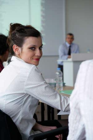 Business seminar Stock Photo - 12249132