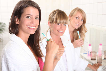 Buccal hygiene is important Stock Photo - 12250227