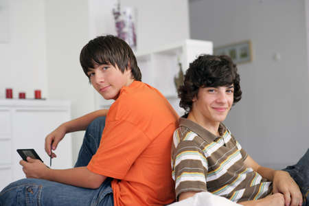 later: Teens with console