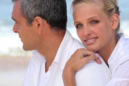 50 to 55 years: Couple Stock Photo
