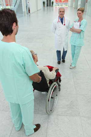 doctor and nurse with patient photo