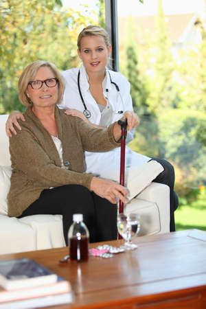 in home care: Assistenza domiciliare