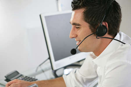 telemarketing: A cell centre agent