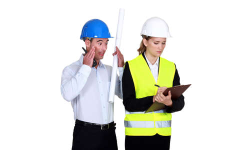 woe: Bad report from an inspector Stock Photo