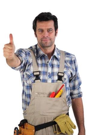 commonplace: Worker dando i pollici in su