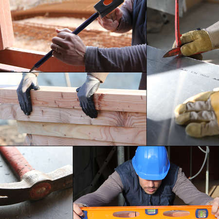 safety gloves: Construction work