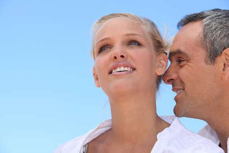 nice day: happy couple