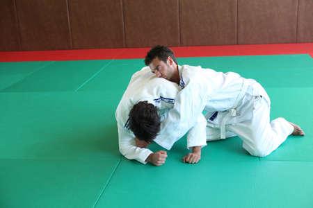 judo: Judo mantenga pulsada la tecla.
