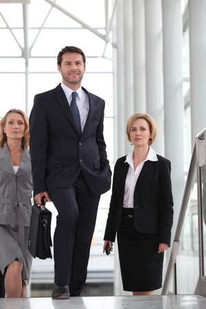 sales manager: Business trip Stock Photo