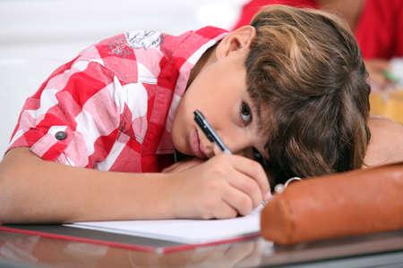 shy: portrait of a pupil
