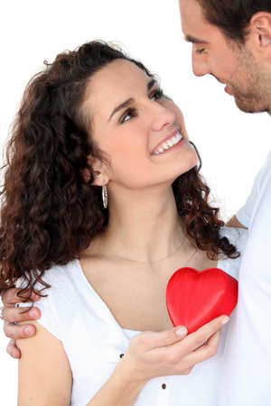 courting: Couple in love
