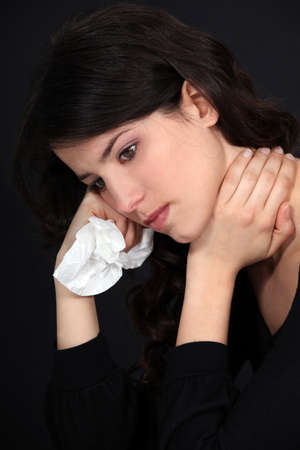 Woman suffering from neck pain Stock Photo - 12600124