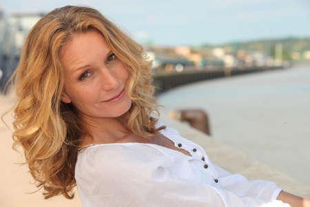 50s women: Beautiful mature woman