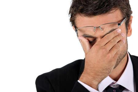 molesto: Desesperado de negocios