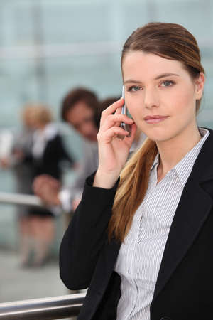 25 to 30: Businesswoman on the phone
