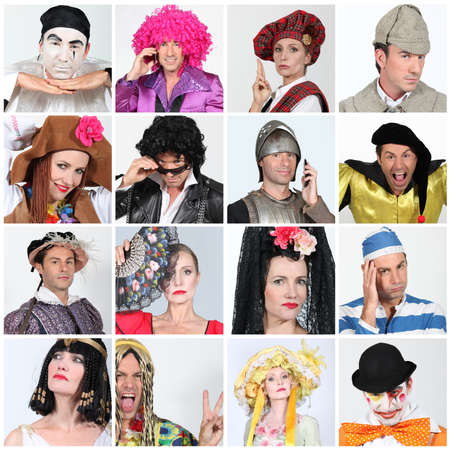 Carnival costumes Stock Photo - 12904364