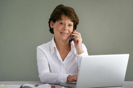 50 to 55 years: Female office manager