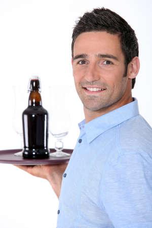 waiter at work photo