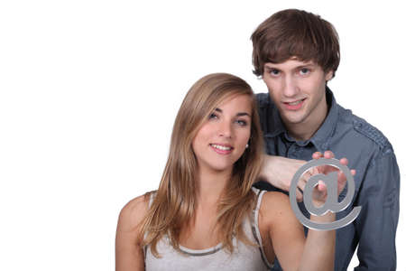 portrait of teenagers with Stock Photo - 12906728