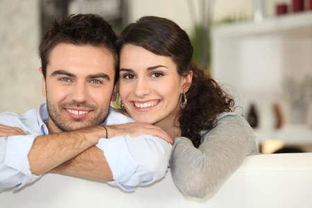 exuberance: Portrait of a happy couple