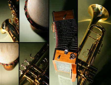 bongo drum: Instrument mosaic