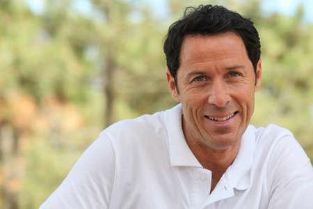 backwoods: man smiling